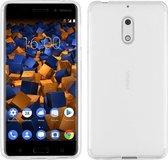Hoesje CoolSkin3T TPU Case voor de Nokia 6 Transparant Wit