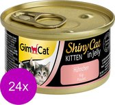 Shinycat Kitten Kip Kattenvoer - 70 gr - 24 stuks
