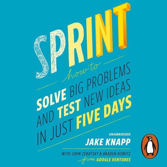 Boek cover Sprint van Jake Knapp (Onbekend)