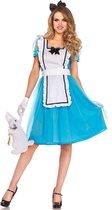 Blauwe Alice kostuum voor vrouwen  - Verkleedkleding - Medium