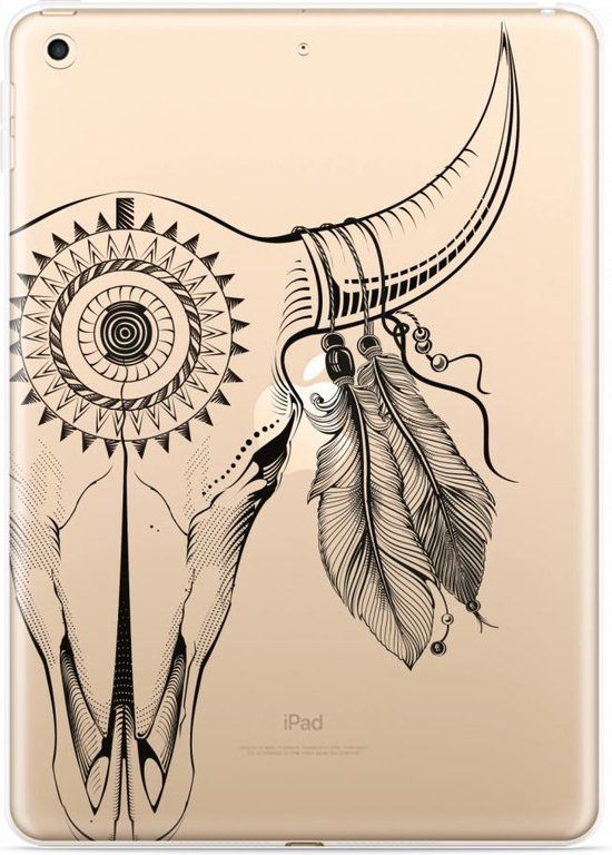 Apple iPad 9.7 Hoes Boho Buffalo Skull