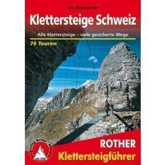 Cover van het boek 'Schweiz klettersteige'
