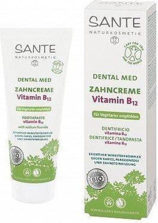 Sante Vitamine B12 - 75 ml - Tandpasta