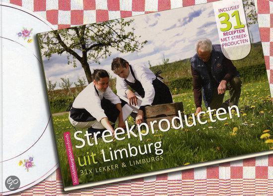 Cover van het boek 'Streekproducten uit Limburg'