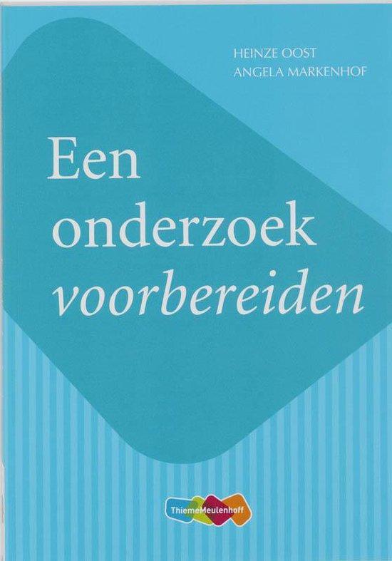 Een onderzoek voorbereiden - Heinze Oost |