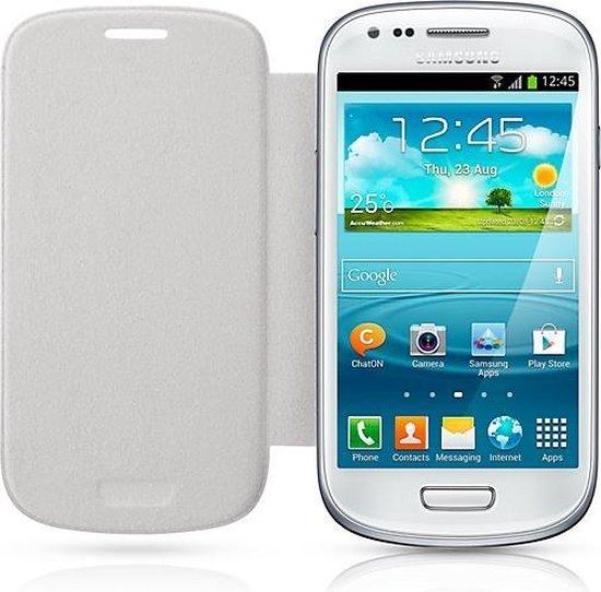 Bol Com Samsung Flip Cover Voor De Samsung Galaxy S3 Mini Wit