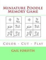 Miniature Poodle Memory Game