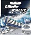 Gillette Mach3 Turbo Razor Blades 5st