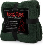 Snug Rug Sherpa - Plaid - Extra Dik - Racing Green/Groen