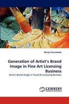 Generation of Artist's Brand Image in Fine Art Licensing Business