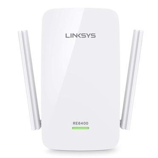 Linksys RE6400 - wifi versterker - 1200 Mbps
