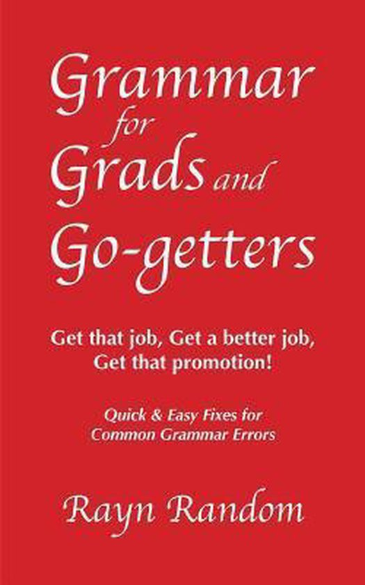 Grammar for Grads and Go-getters