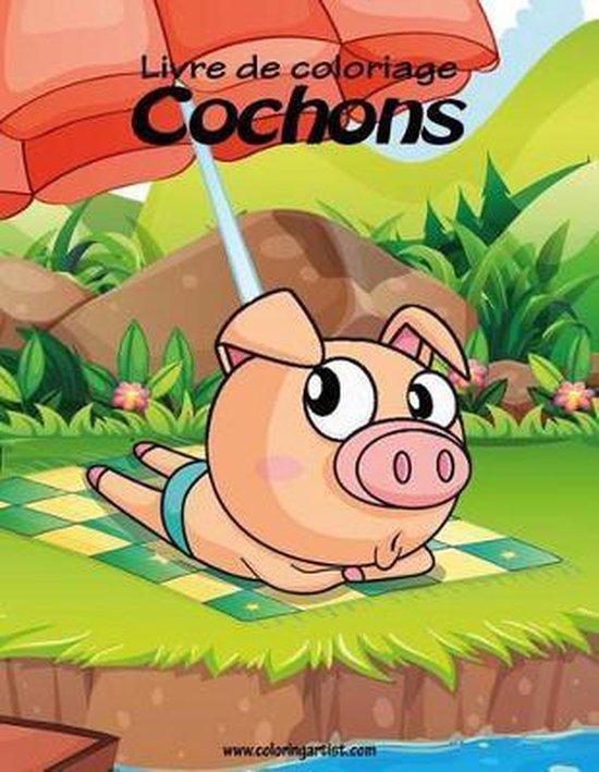 Livre de coloriage Cochons 1