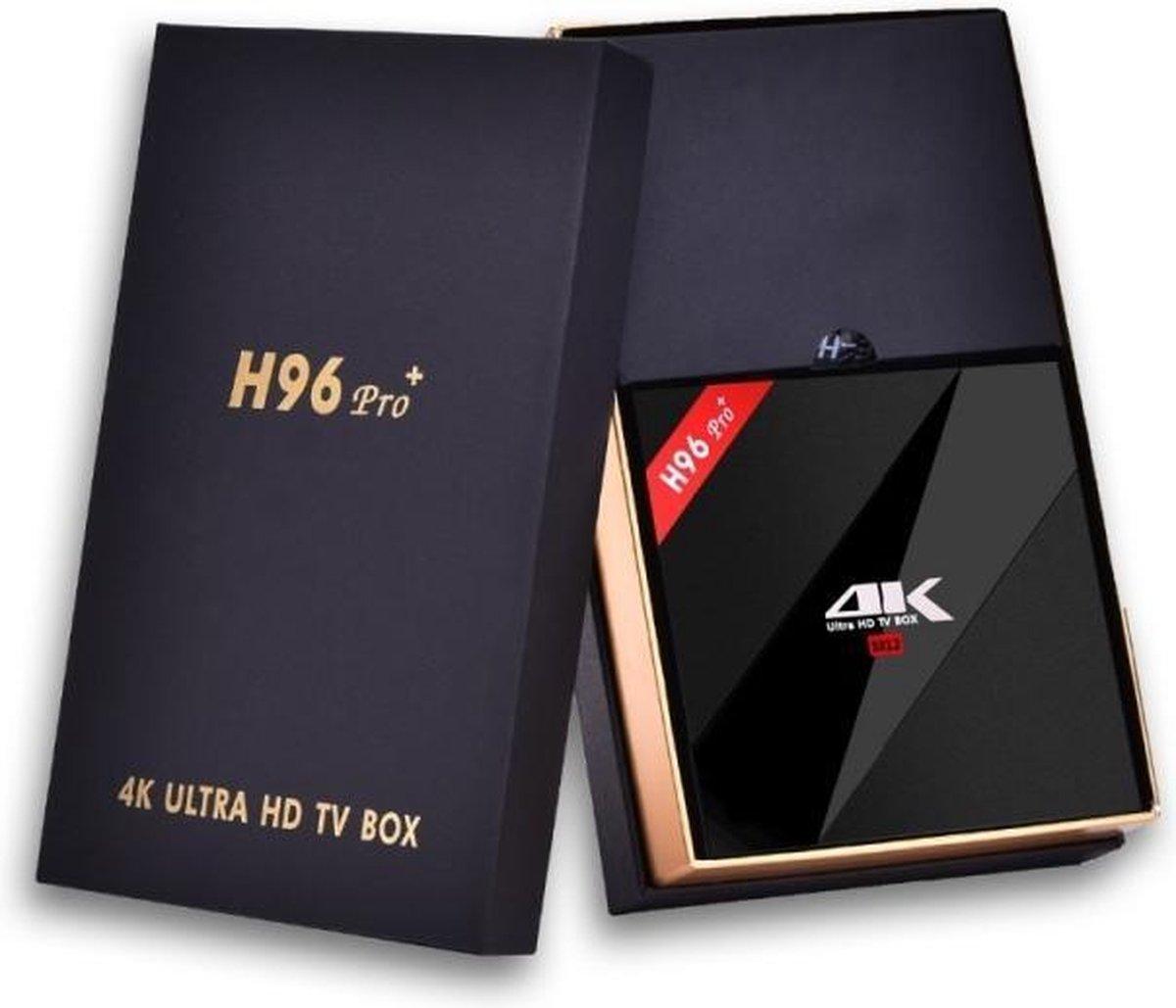 H96 Pro Plus Octa Core S912 mediaspeler – Android TV Box met 3GB DDR3