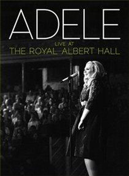 Cover van de film 'Adele - Live At The Royal Albert Hall'