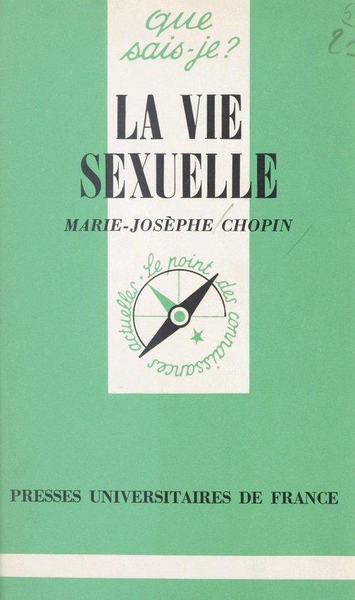 La vie sexuelle