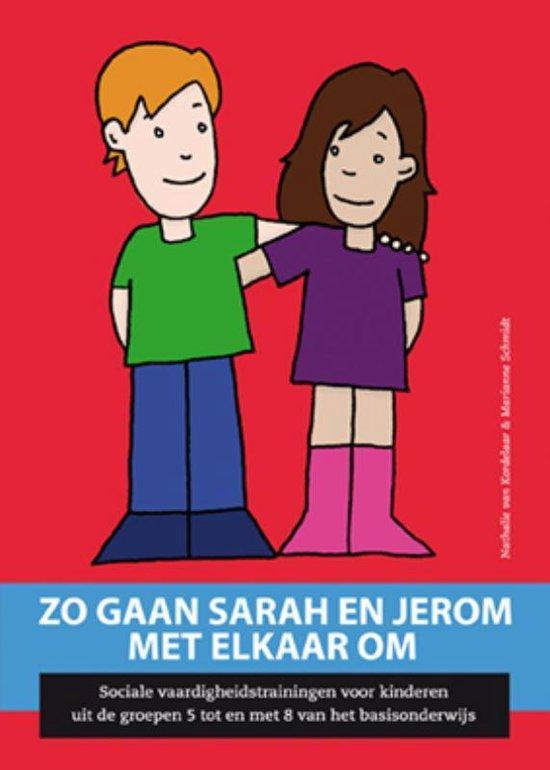 Zo gaan Sarah en Jerom met elkaar om - Nathalie van Kordelaar  
