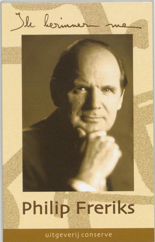 Ik herinner me ... - Philip Freriks | Readingchampions.org.uk