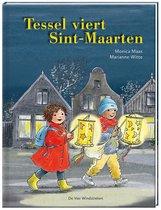 Boek cover Tessel viert Sint-Maarten van Marianne Witte