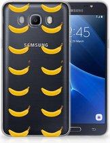 Samsung Galaxy J7 2016 Uniek TPU Hoesje Banana