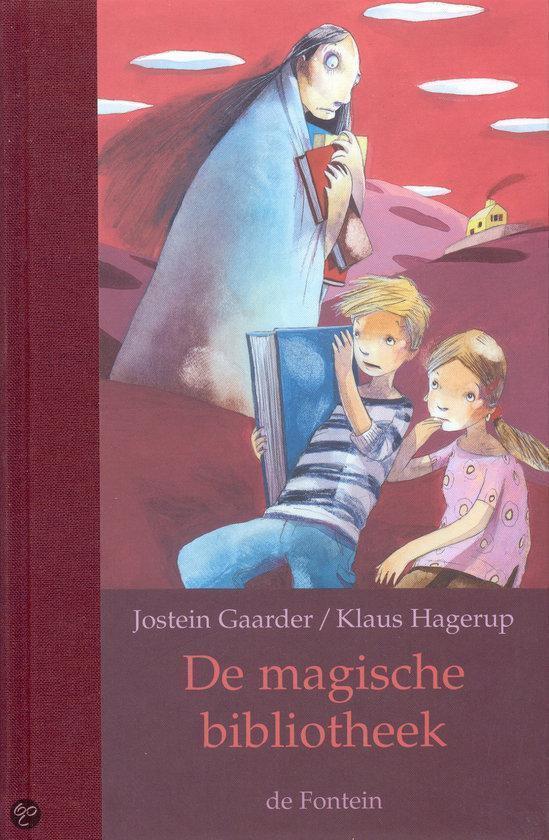 Cover van het boek 'De magische bibliotheek' van Jostein Gaarder en Klaus Hagerup