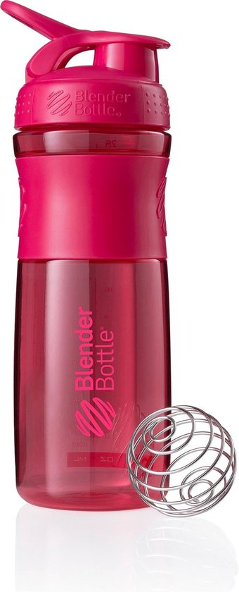BlenderBottle™ SPORTMIXER Big Fashion Roze met oog - Eiwitshaker / Bidon / Shakebeker  - 820 ml