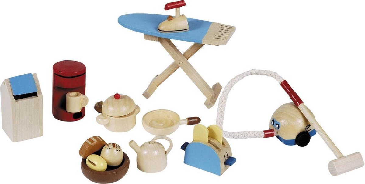 Poppenhuis keuken accessoires