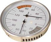 Karibu Sauna Thermometer Hygrometer (Klimaatmeter) - Classic (Ø10cm)