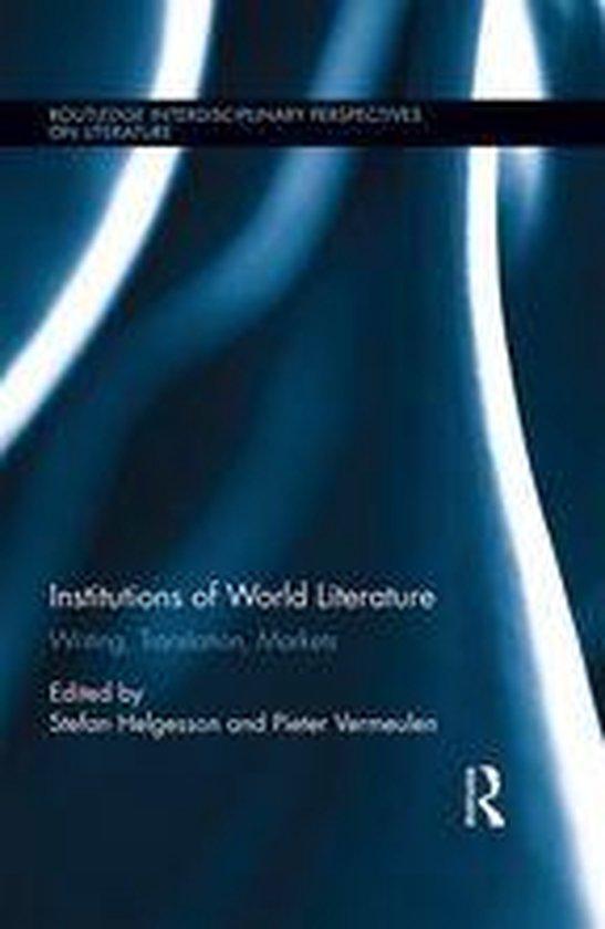 Afbeelding van Institutions of World Literature