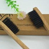 Bamboe Tandenborstel | Zacht/medium voor gevoelige tandvlees|Biologisch afbreekbaar| 100% organic | 2 stuks | KELERINO.