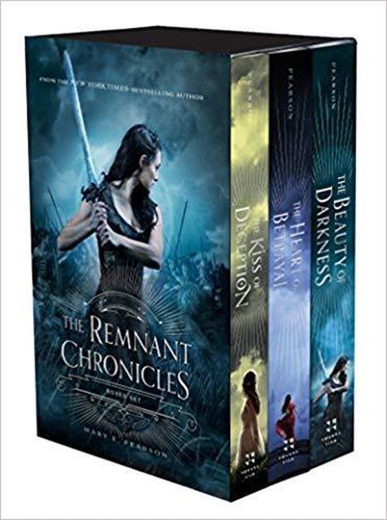 Boek cover The Remnant Chronicles Boxed Set van Mary E. Pearson (Onbekend)