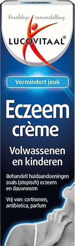 Lucovitaal - Eczeem Crème - 50 millilter - 1 stuk - Bodycrème - Eczeemzalf