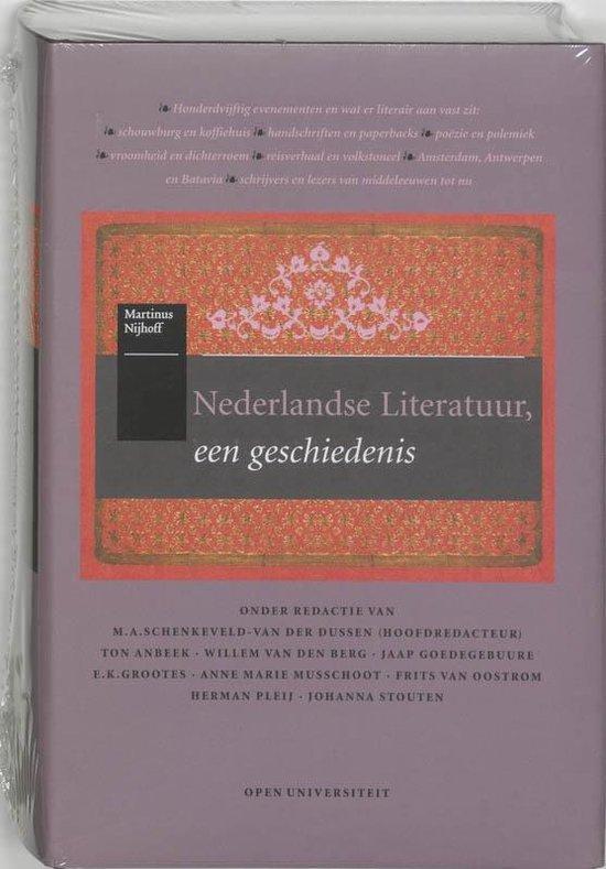Nederlandse literatuur, een geschiedenis - T. Anbeek  