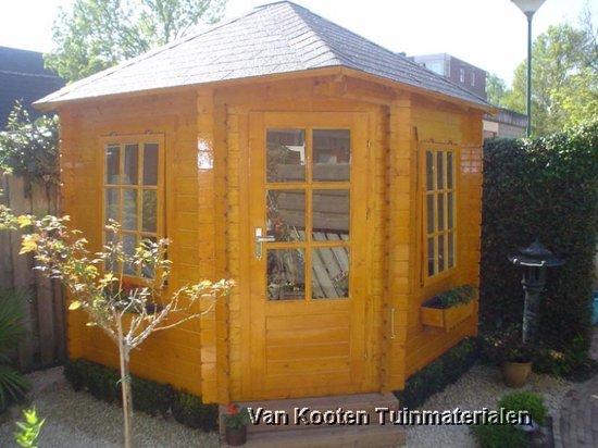 bol.com | VKT Blokhut Blokhut Hortensia, noord-europees ...