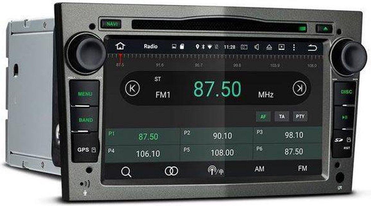 "Carpar Opel Android 6.0 Navigatie 7"" Grijs"