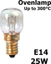 Calex Ovenlamp 240V 25W E14 Tot 300 Graden C T25 210 Lumen 2700K