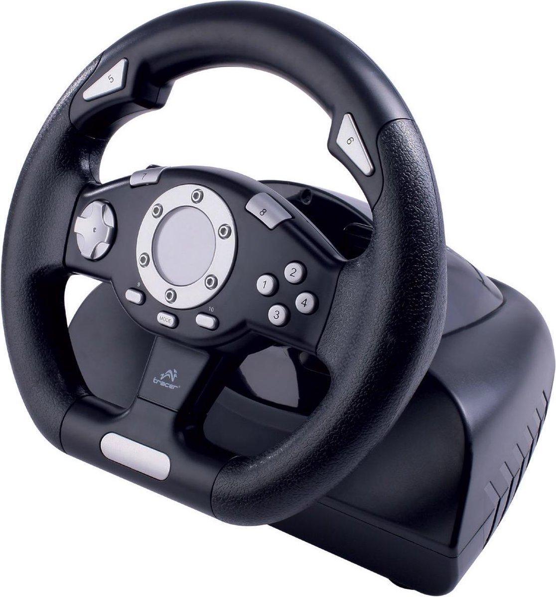 Tracer - PC Gaming Stuurwiel Sierra - Met een racegame