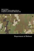 McO 5351.1 Combat and Operation Stress Control Program