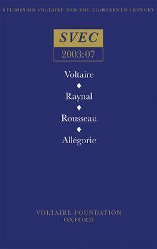 Voltaire / Raynal / Rousseau / Allegorie