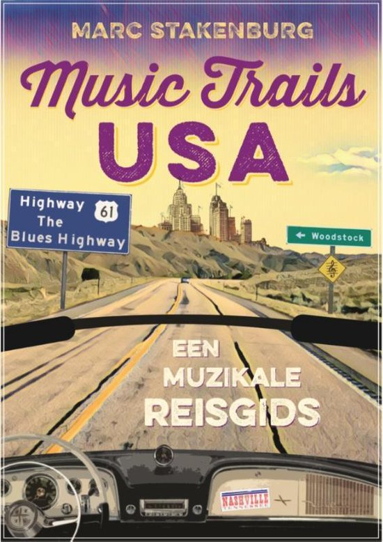 Boek cover Music Trails USA van Marc Stakenburg (Hardcover)