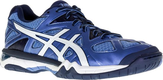 Asics Gel Tactic indoorschoenen Dames Sportschoenen Maat 42 Vrouwen blauwwit