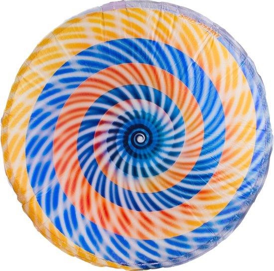 Air spinner hover disc ballon Regenboog - vliegende schotel
