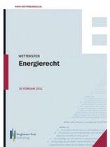 Wetteksten Energierecht 2013
