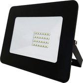 Buitenlamp zwart | LED 20W=200W halogeen schijnwerper | koelwit 4000K | waterdicht IP65