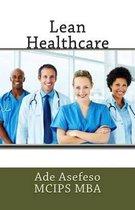 Boek cover Lean Healthcare van Ade Asefeso Mcips Mba