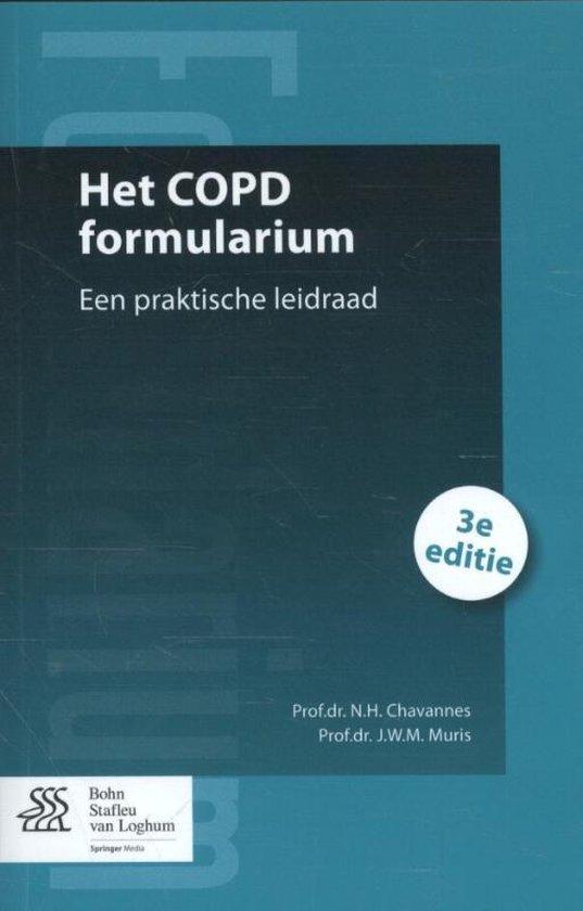 Het Copd Formularium - N.H. Chavannes | Fthsonline.com