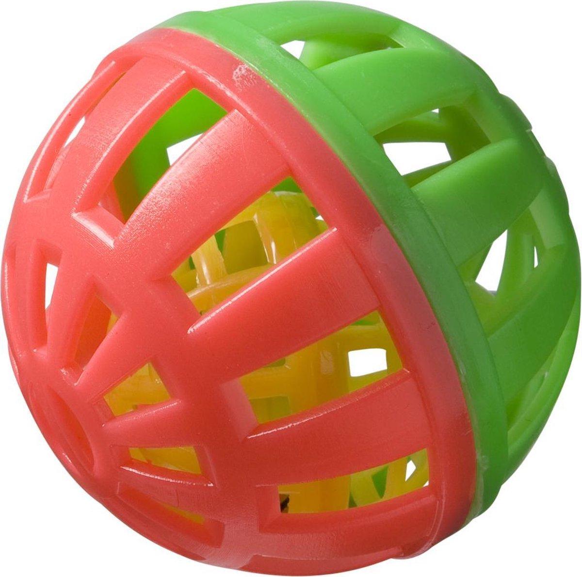 Adori Knaagspeeltje Speelbal Plastic Multi-Color \xd86 cm - Adori