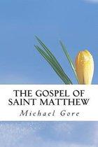 Boek cover The Gospel of Saint Matthew van Ps Michael Gore