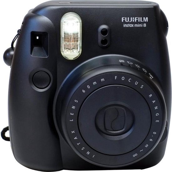Fujifilm Instax Mini 8 - Zwart