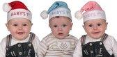 Kraam Cadeau - Baby's 1st Kerst Muts - Roze